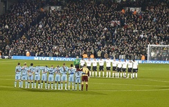 A minute's silence for Jim Langley