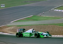 Jos Verstappen driving the B194