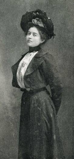 Mary MacLane (From the inside cover of The Story of Mary MacLane, Herbert S. Stone and Company, 1902)