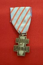 Commemorative medal for voluntary service in Free France