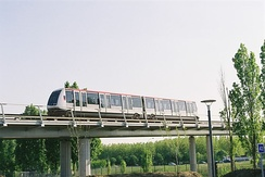 Line A of the Toulouse Metro.