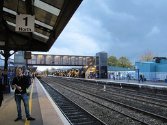 Oxford railway station, in the City Centre