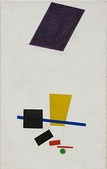 Kazimir Malevich, Painterly Realism of a Football Player—Color Masses in the 4th Dimension, 1915