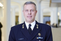 Lieutenant admiral Rob Bauer is the current Chief of Defence.