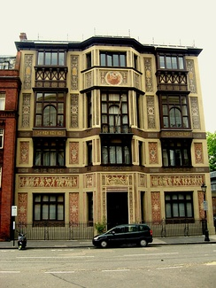 The building in Kensington, London, which housed the Royal College of Organists from 1903–91