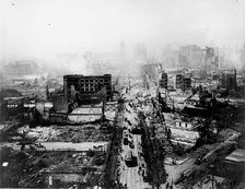 The ruins of San Francisco following the April 18 earthquake and later fires