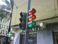 Typical set of traffic lights in Spain