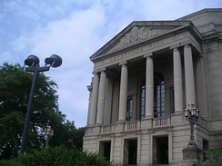 Severance Hall, the orchestra's home since 1931.