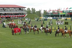 """National"" Award Ceremony at Spruce Meadows"