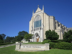 St. Mark's Episcopal Cathedral in Shreveport, Louisiana