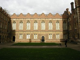 View of Third Court and the Old Library