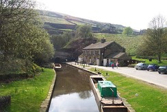 Tunnel End, the eastern entrance to Standedge Tunnel