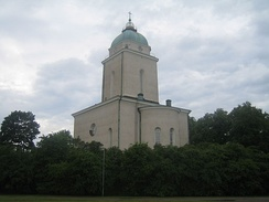 Formerly an Orthodox church, the Suomenlinna Church was turned to Lutheran in 1918.[41]