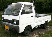 1990–1991 facelifted Suzuki Carry truck (DA51T)