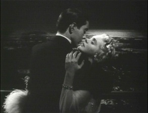 Tyrone Power passionately, lovingly, embraces Alice Faye in the 1938 film Alexander's Ragtime Band.