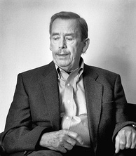 Václav Havel, first President of the Czech Republic