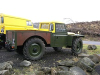 1961-1966 Land Rover 109 SII 'Forest Rover' with tractor-size wheels