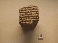 A Babylonian astronomical diary (c. 323–322 BC) recording the death of Alexander (British Museum, London)