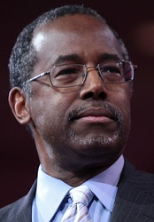 Ben Carson was a Republican candidate for president in 2016 and the Secretary of Housing and Urban Development (2017-present).