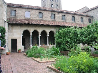 The cloister from Bonnefont-en-Comminges, at The Cloisters