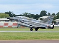 Mirage 2000N based at Istres arrives at the 2016 RIAT, England
