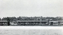 Xenia Hotel at Paliouri, Chalkidice, 1962