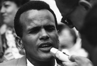 Belafonte has each of the four awards, but his Oscar is a non-competitive award.