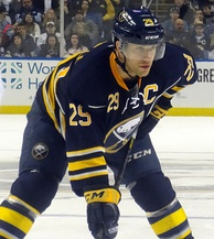 Jason Pominville was named the 13th Sabres team captain before the start of the 2012–13 season.