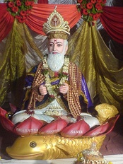 Jhulelal is considered an incarnation of Varuna by Sindhi Hindus.