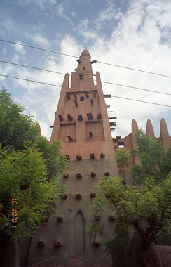 Konoguel Mosque tower