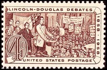 Lincoln Douglas debates of 1858, Issue of 1958