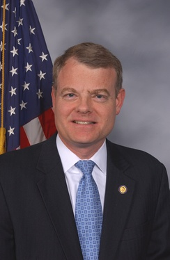 Mike McIntyre, who was re-elected as the U.S. Representative for the 7th district