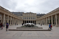 The Palais-Royal in Paris houses the ministry's head office as well as the Constitutional Council