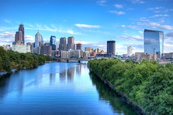 The Schuylkill River provides 40% of the water used in Philadelphia