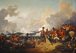 British victory over the French at the Battle of Alexandria, resulted in the end of Napoleon's military presence in Egypt.