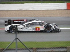 The race-winning No. 2 Porsche 919 Hybrid