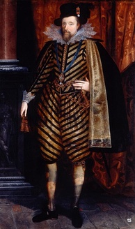 James VI succeeded to the English and Irish thrones in 1603.