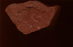Ignimbrite from the Red Rocks Gorge has a strong red colour