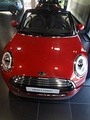 Red Mini Cooper Cabrio (F57), frontal view, Madrid, 2016.jpg