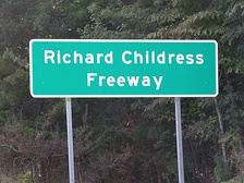 A section of Interstate 85 between exit 96 and exit 102 has been declared the Richard Childress Freeway.