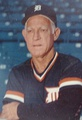 Sparky Anderson served as the manager of the Detroit Tigers from 1979 to 1995, and led the Tigers to a World Championship in 1984.