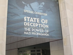 """State of Deception"" Nazi propaganda exhibition at the museum in 2011"