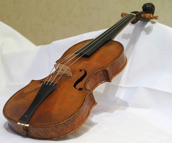 Baroque mounted Jacob Stainer violin from 1658