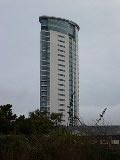 The Meridian tower, Swansea. Tallest building in Wales