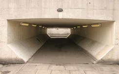 The tunnel used in the making of A Clockwork Orange