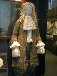 Wedding suit of James II, 1673
