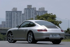 Porsche 997 Carrera S (rear view)