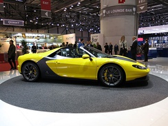 Ferrari Sergio at the 2015 Geneva Motor Show