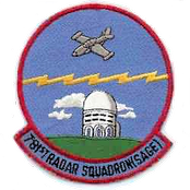 Emblem of the 781st Radar Squadron