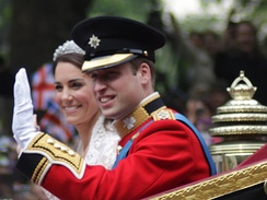 Prince William, Duke of Cambridge and Catherine, Duchess of Cambridge graduated together in 2005 with degrees in Geography and History of Art respectively.